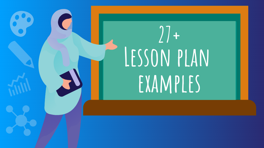 Lesson plan examples header