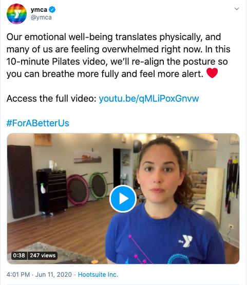 Nonprofit Twitter Example