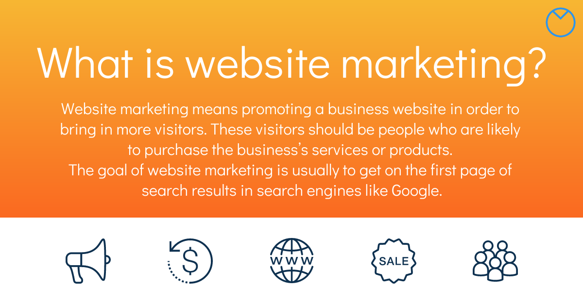 what is website marketing definition