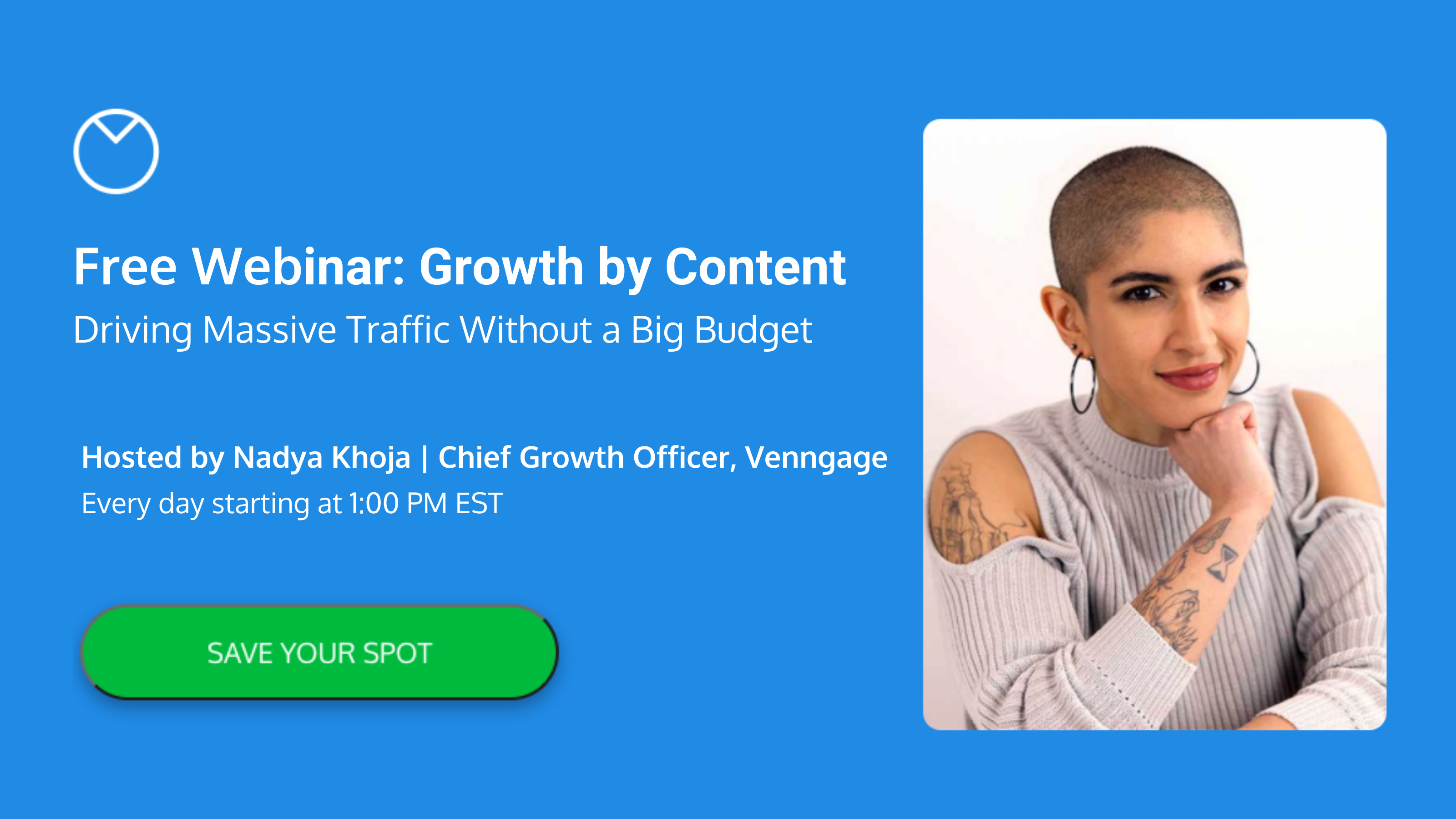 Growth By Content Webinar Banner