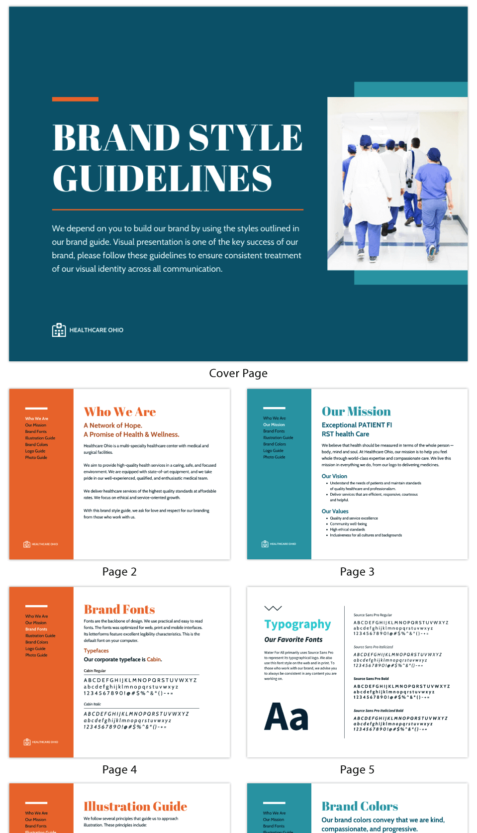 Healthcare Brand Style Guide Ebook