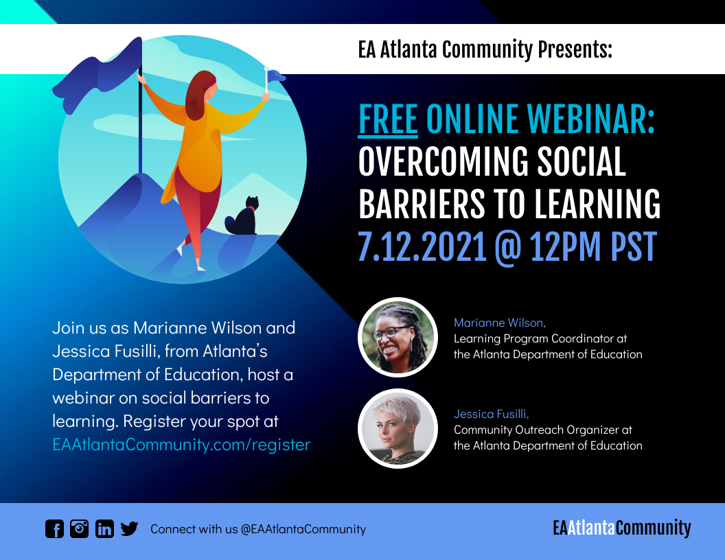 Nonprofit Webinar Event Flyer Template