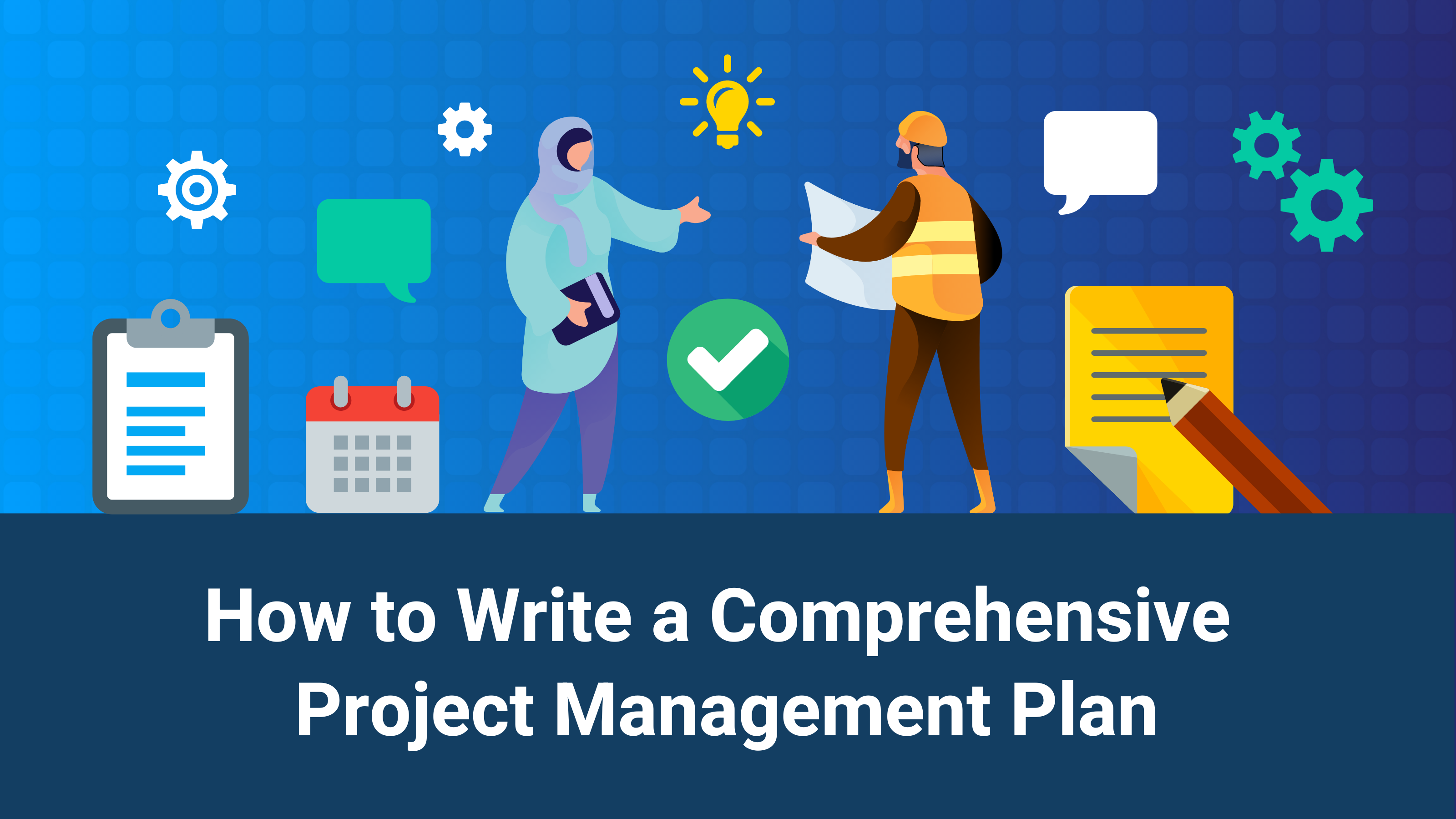 Project Management Plan Blog Header
