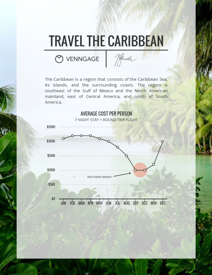 Travel Expense Infographic Template