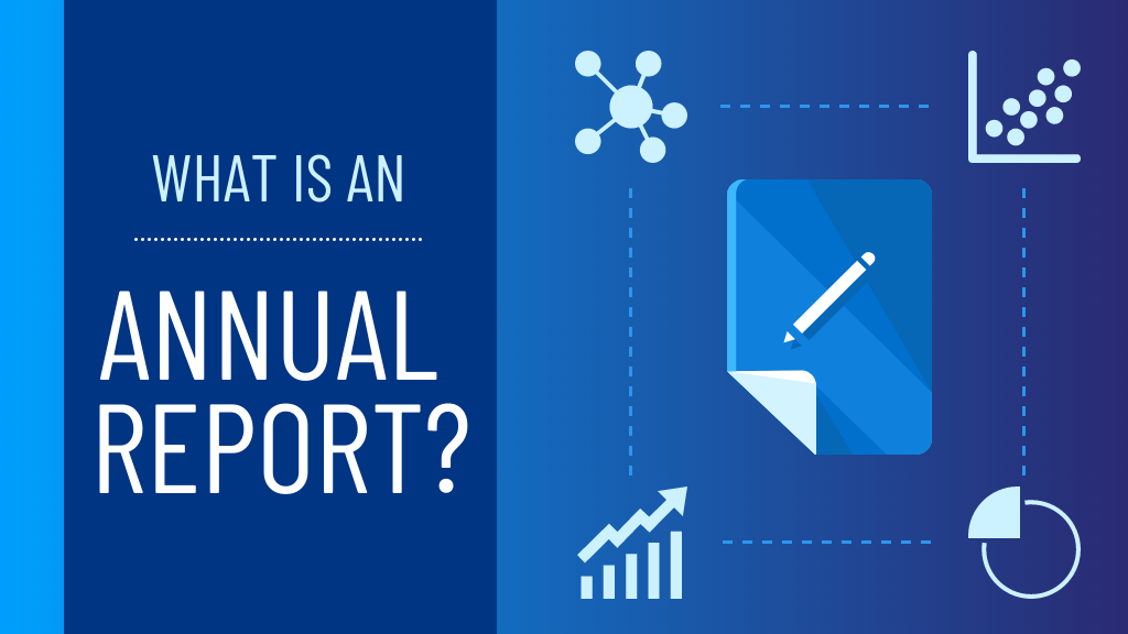 What is an annual report? Blog header image for blog post on what is an annual report?
