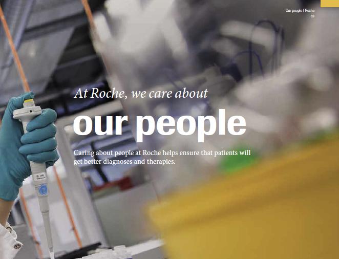 Roche Annual Report Example 3