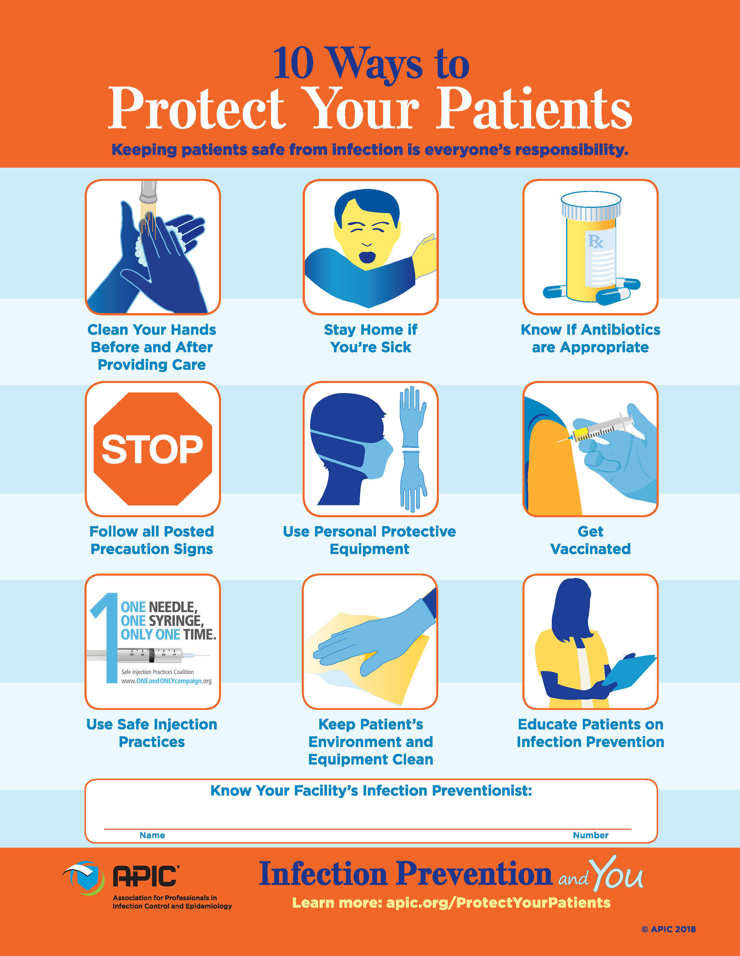 visual communication safety poster