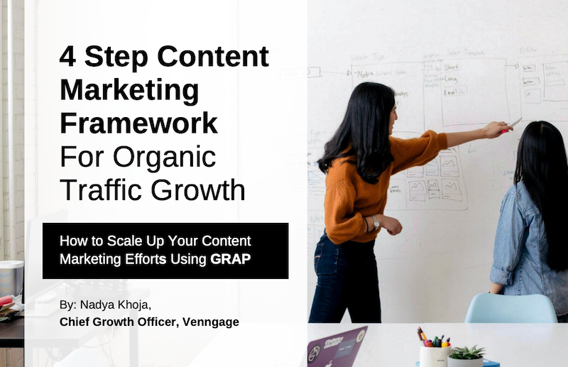 4 Step Content Marketing Framework For Massive Organic Traffic Growth