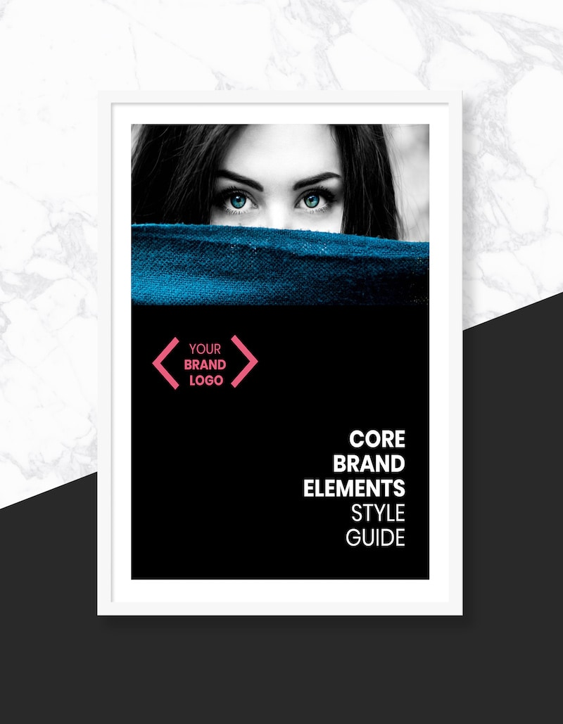 Bold Brand Style Guide Template 1