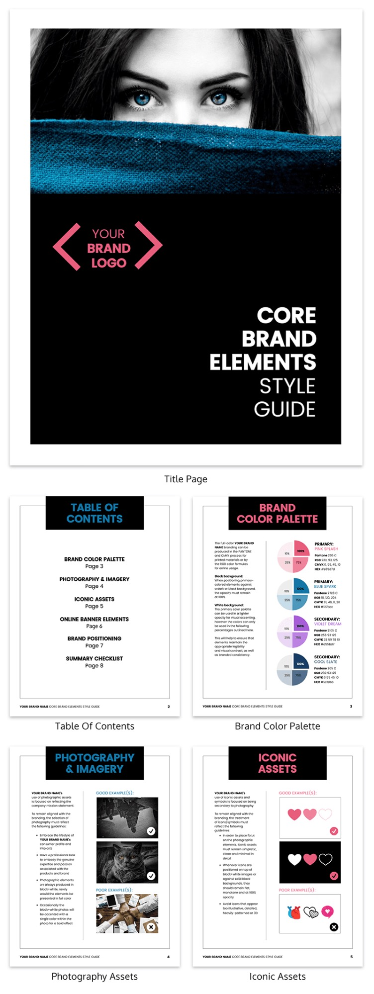 Bold Brand Style Guide Template