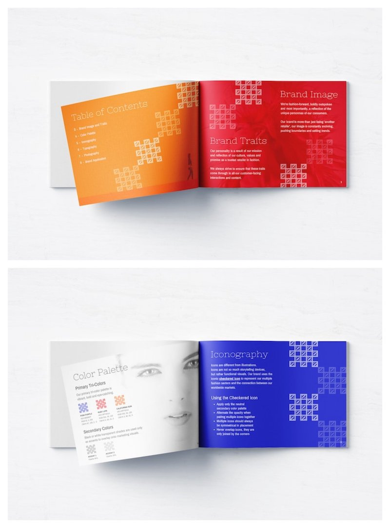 Bold Fashion Brand Style Guidelines Template2