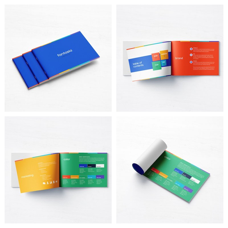 Colorful Small Business Brand Guidelines Template1