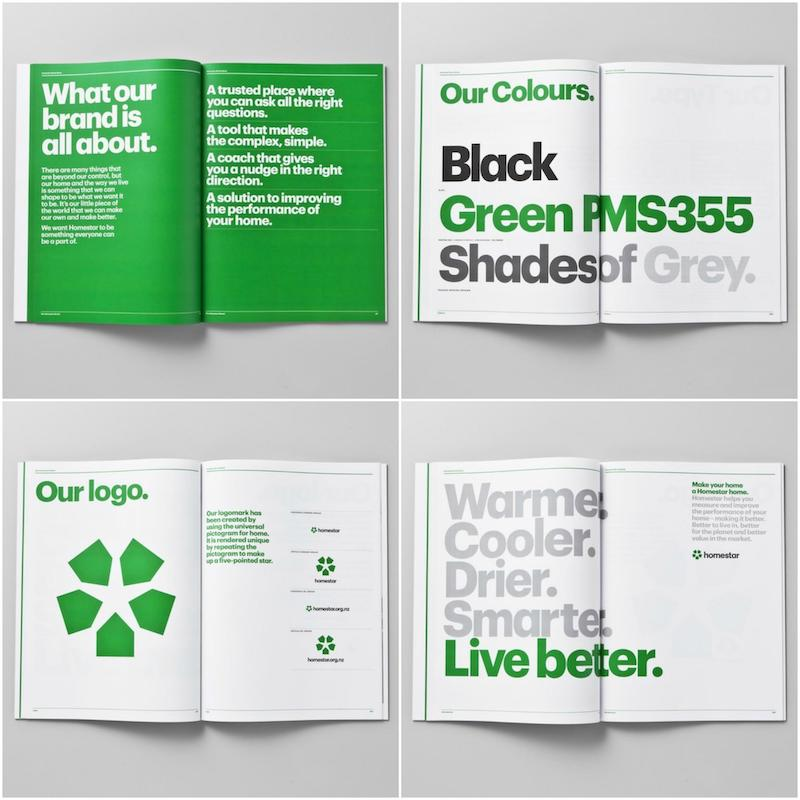 Green Bold Brand Guidelines Example