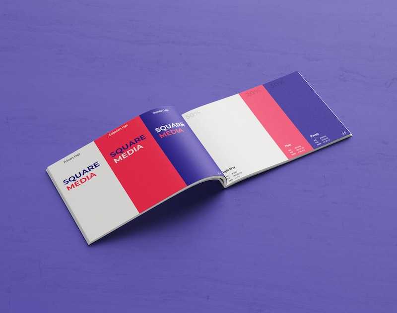 Modern Colorful Brand Guidelines Template1