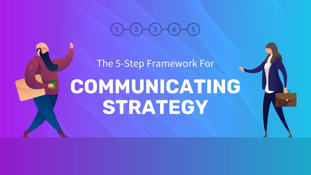 communicating strategy header