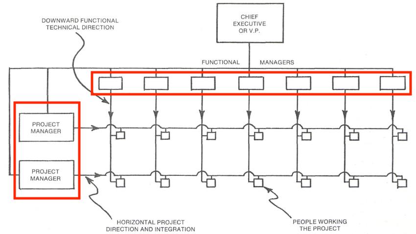 Organizational Chart Examples Matrix Organizational Chart Annotated 1
