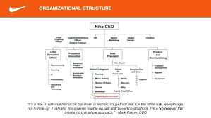 Organizational Chart Examples Nike Organizational Chart