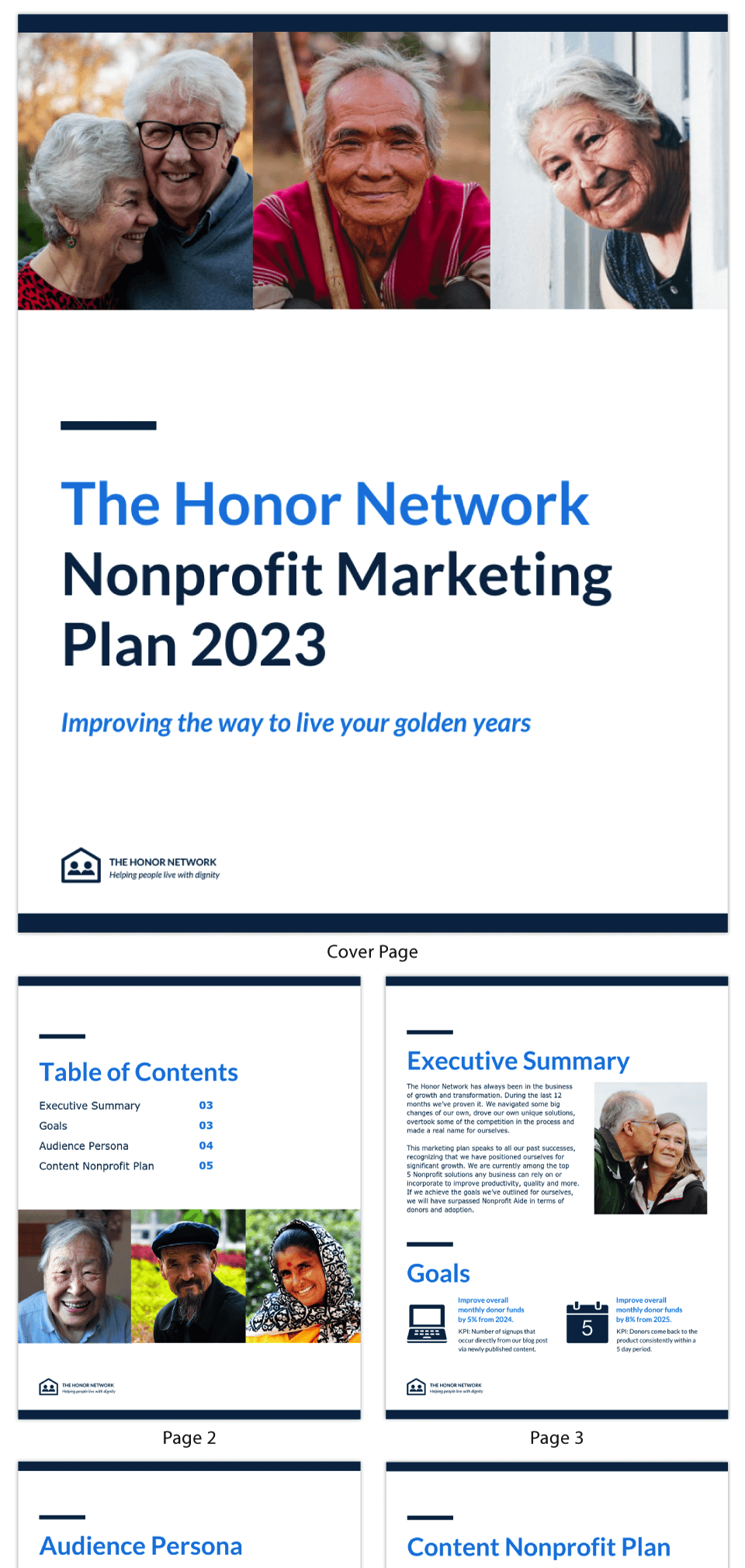 Simple Nonprofit Communications Plan Template