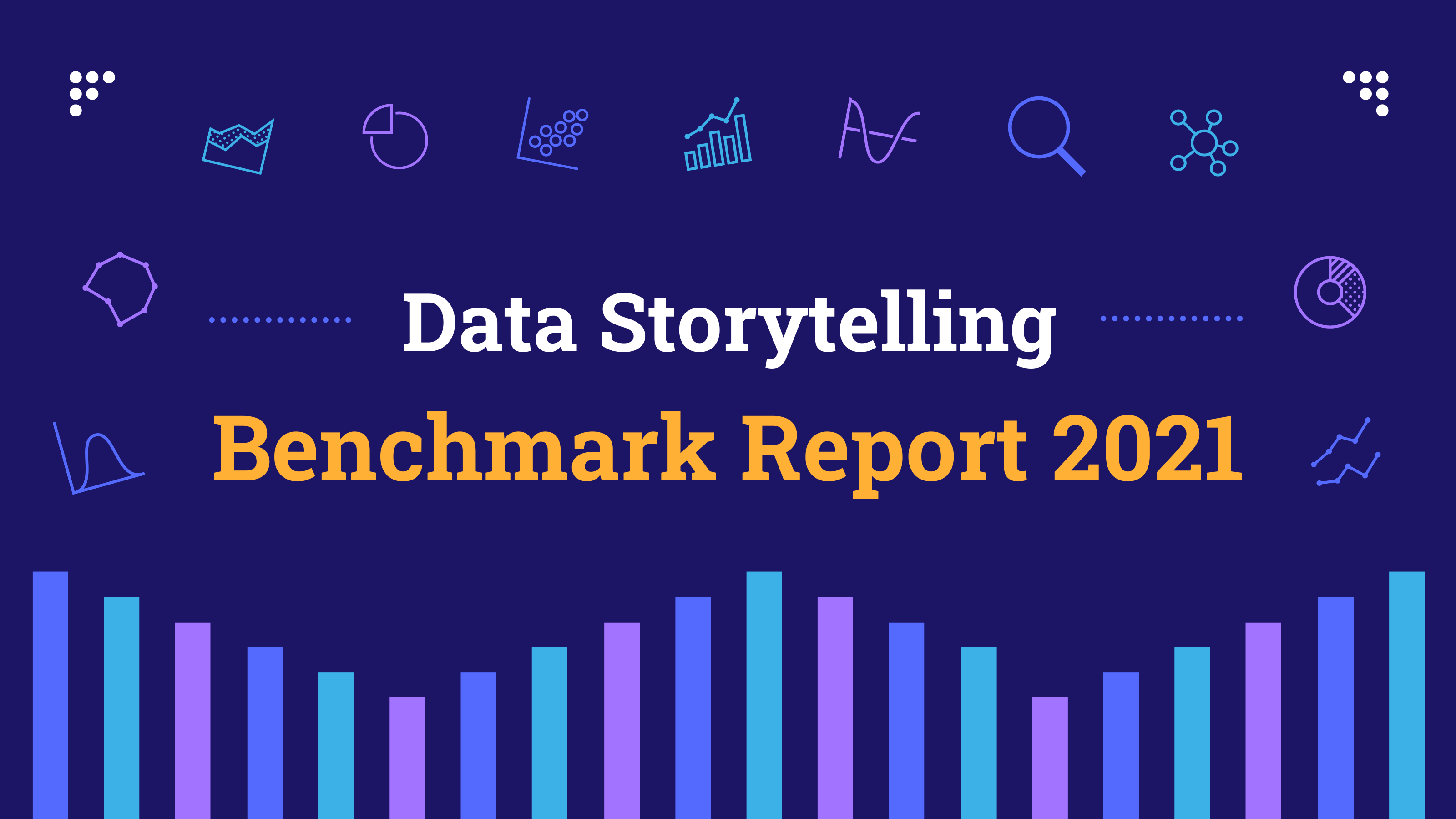 Data Storytelling Marketing Benchmark Report 2021 Blog Header