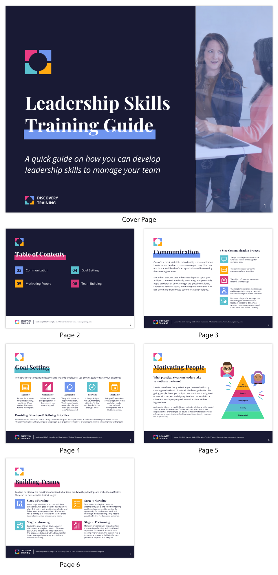 Training materials leadership skills training guide