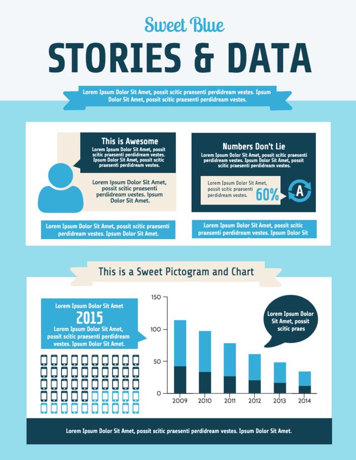 Demographic Infographic Template Survey Data