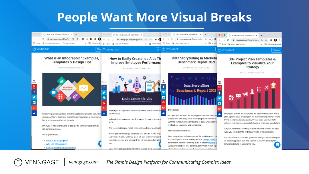 Infographic SEO people want more visual breaks.