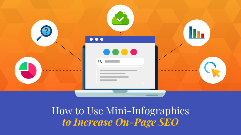 Infographic SEO Mini Infographics Blog Header