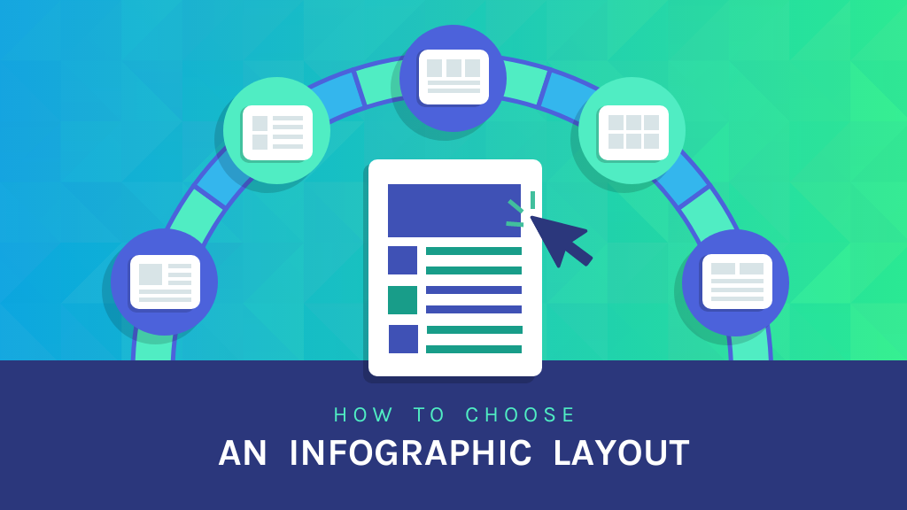 Infographic layout blog header