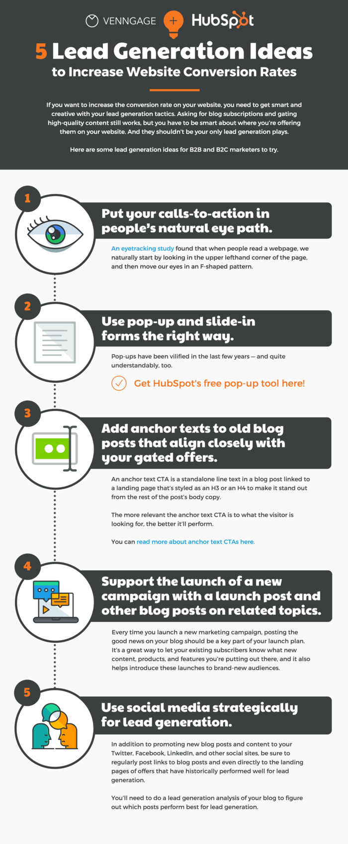 Lead Nurturing Guestographic Infographic Template