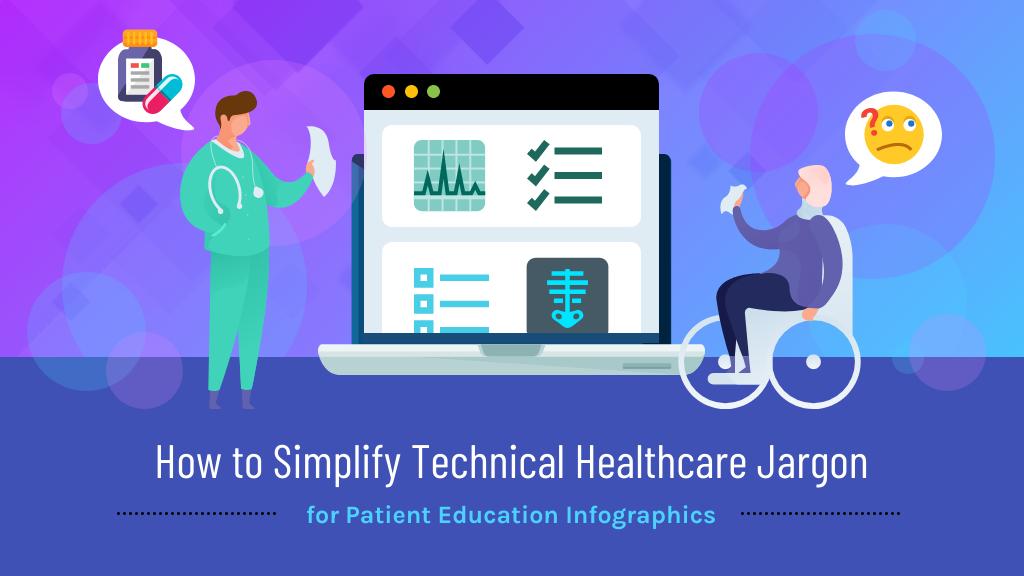 Patient education materials healthcare jargon blog header