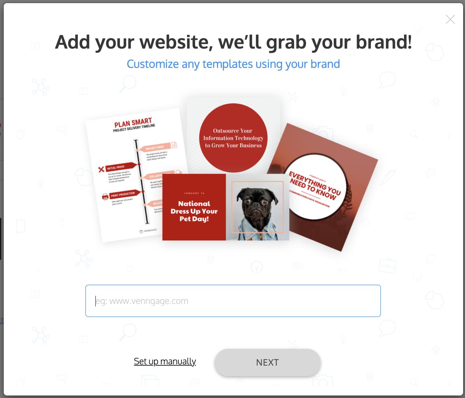 Venngage vs PowerPoint Venngage Brand Kit