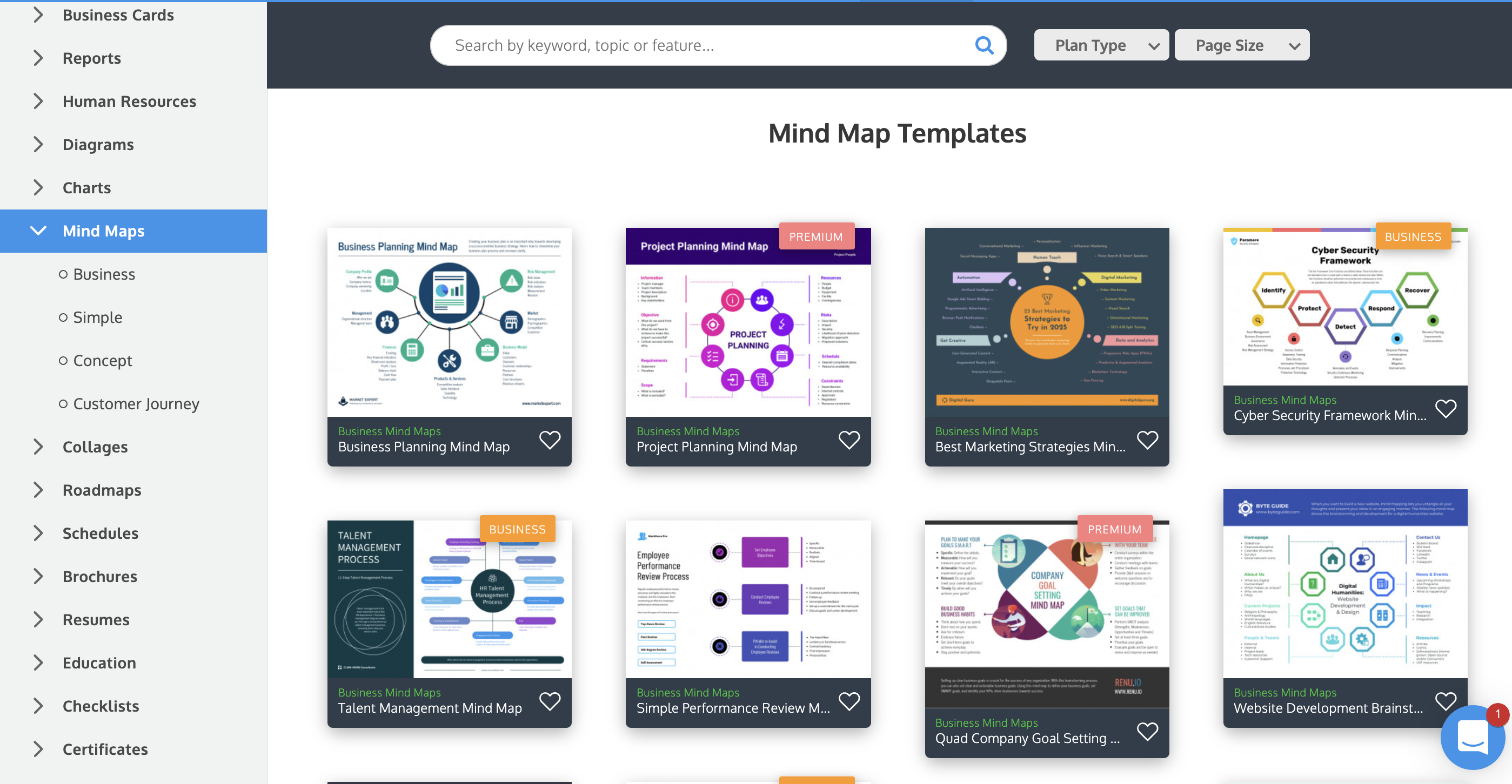 Venngage vs Piktochart Venngage Mind Map Templates