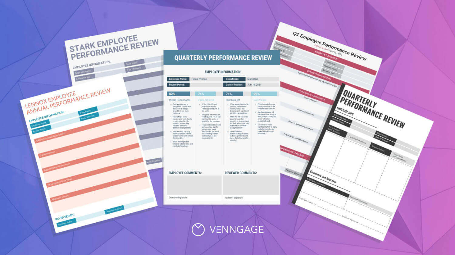 21 Engaging Performance Review Examples [+ Tips From an HR Manager] Blog Header
