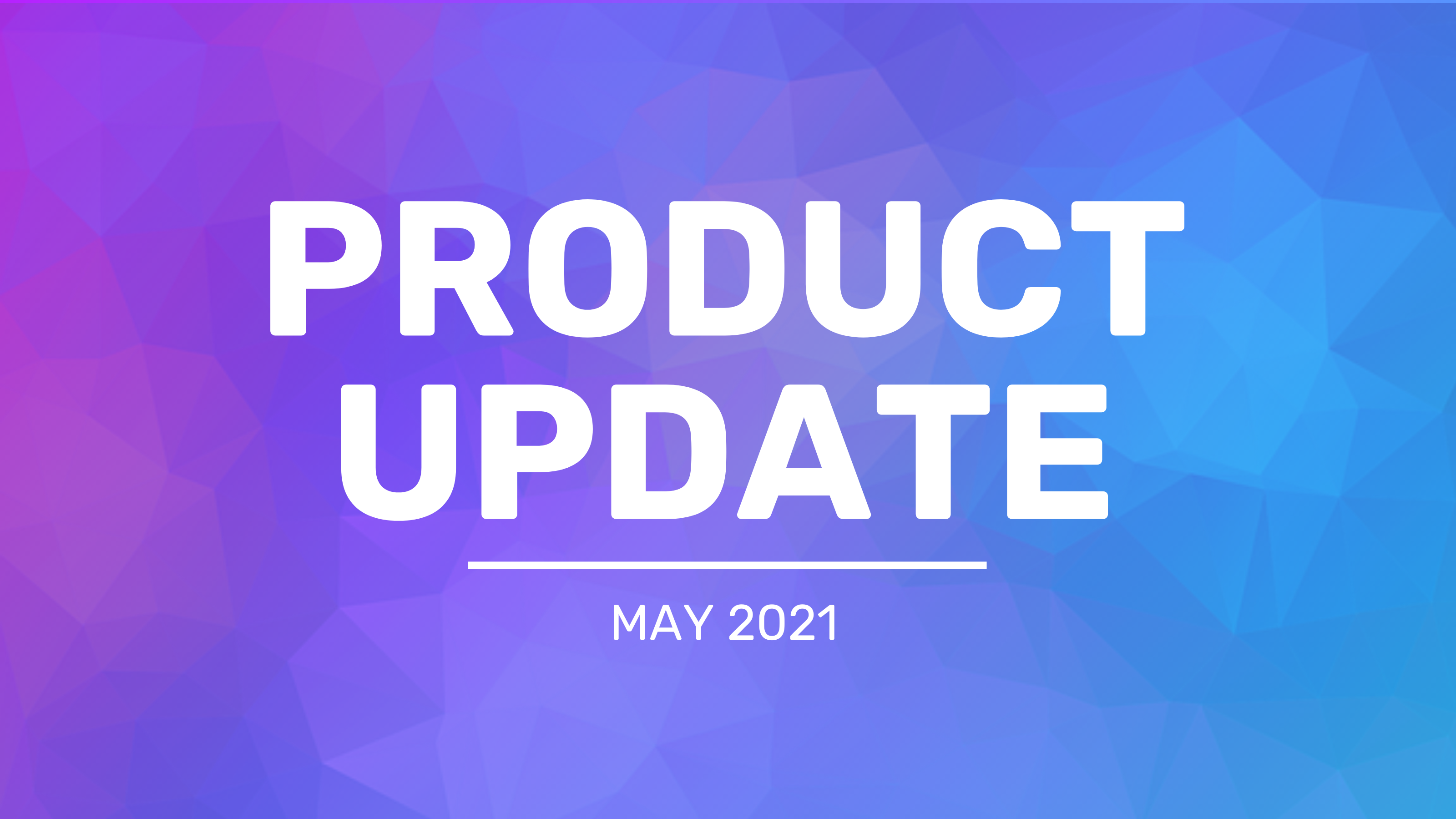 Venngage May 2021 Feature Update