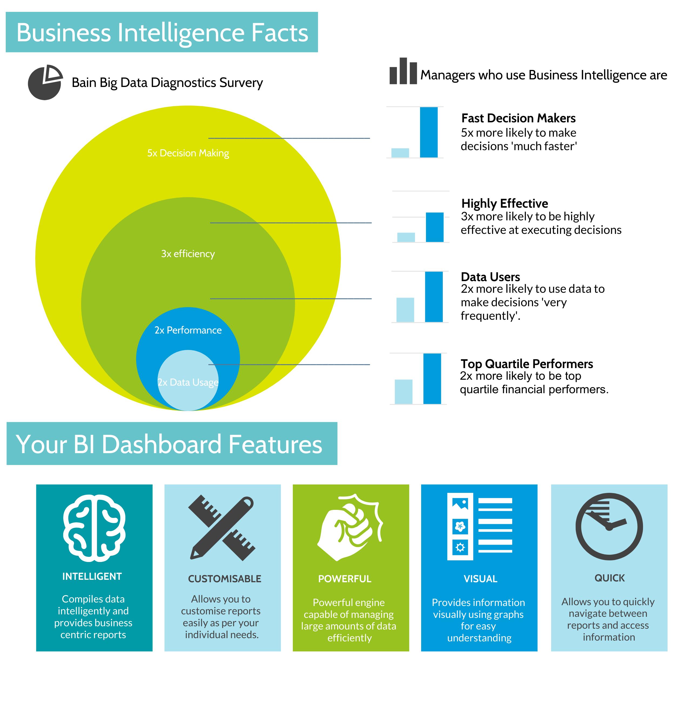 Business Intelligence Explainer Infographic