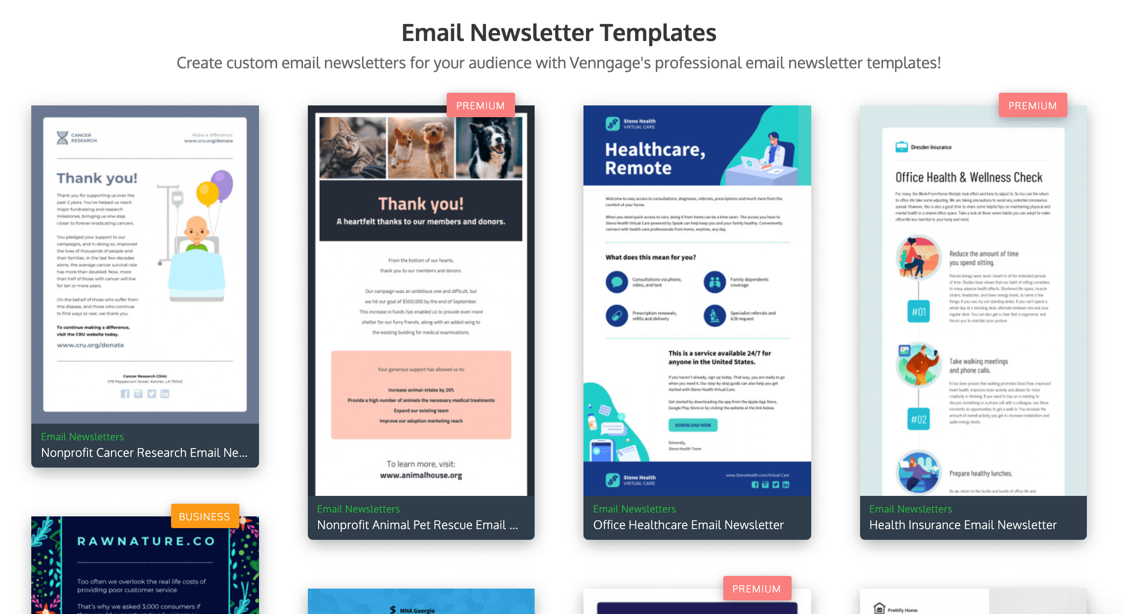 Mailchimp Newsletter Ideas