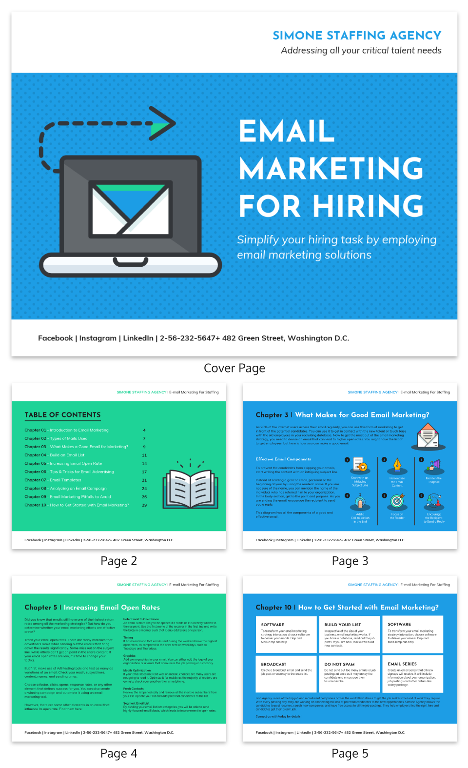 Email Marketing Infographic Email Marketing For Hiring White Paper