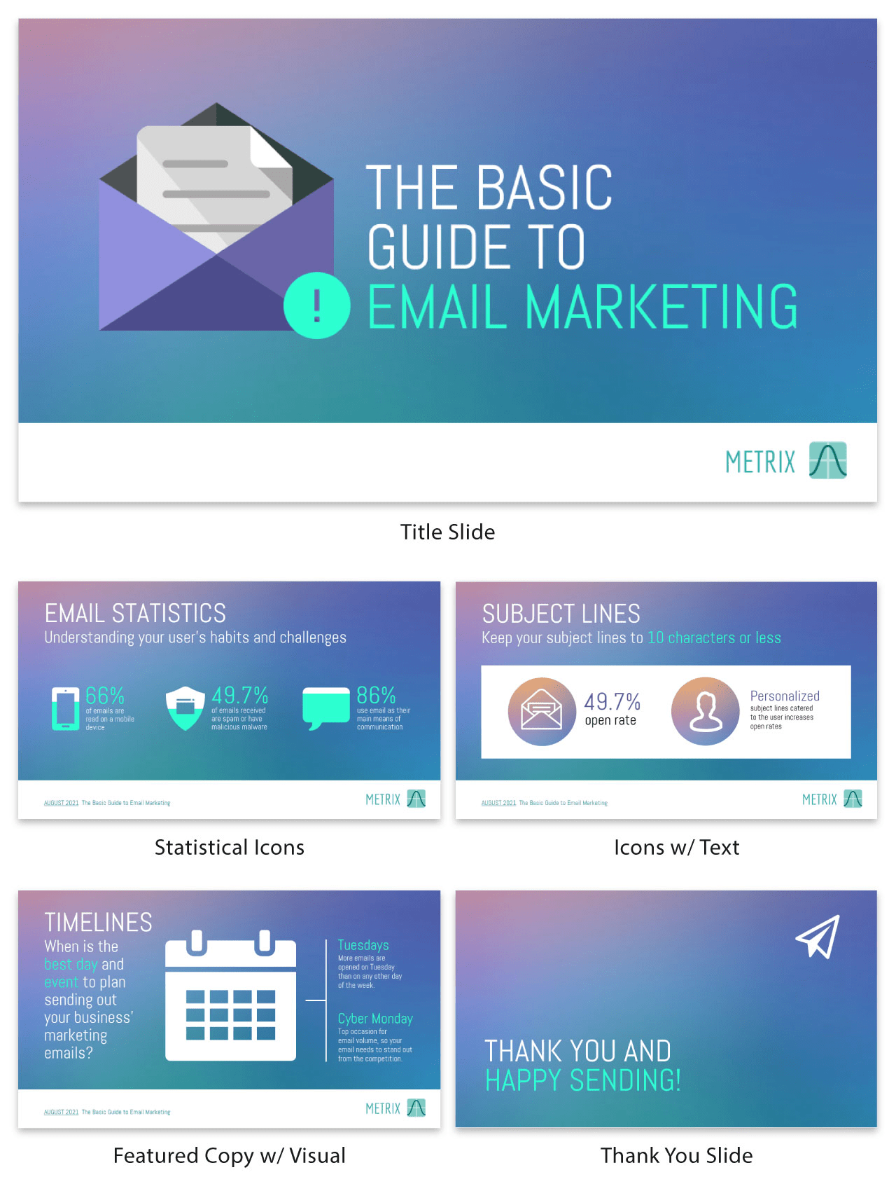 Email Marketing Infographic Email Marketing Guide Business Presentation Template