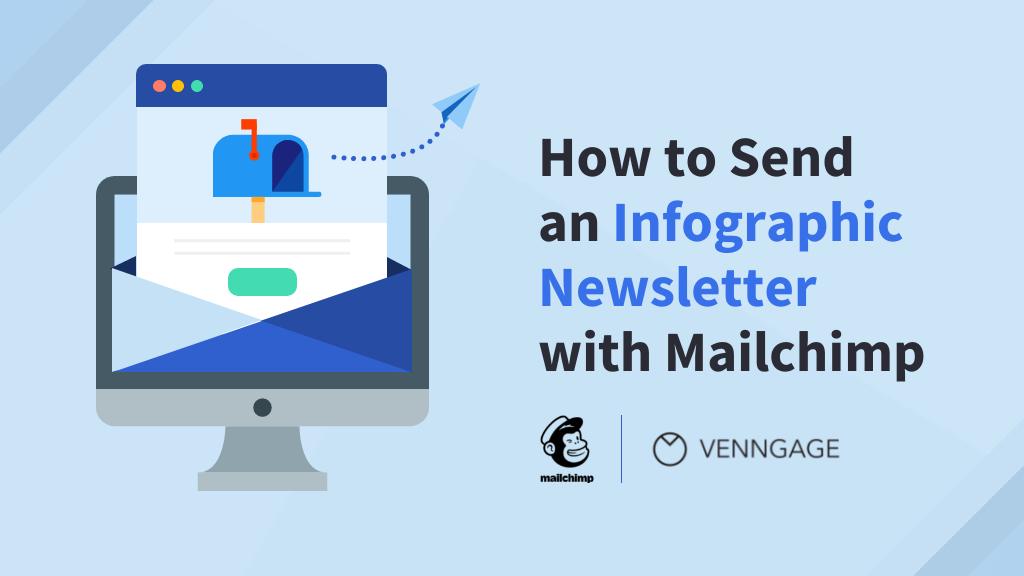 Infographic newsletter with Mailchimp Blog Header