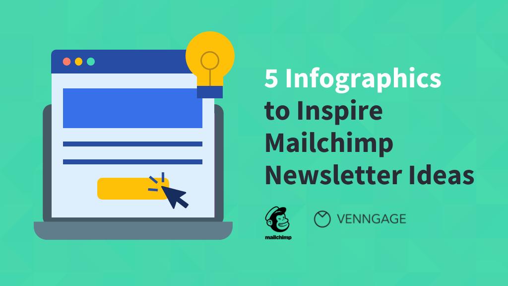 Infographics to inspire Mailchimp Newsletter Ideas Blog Header