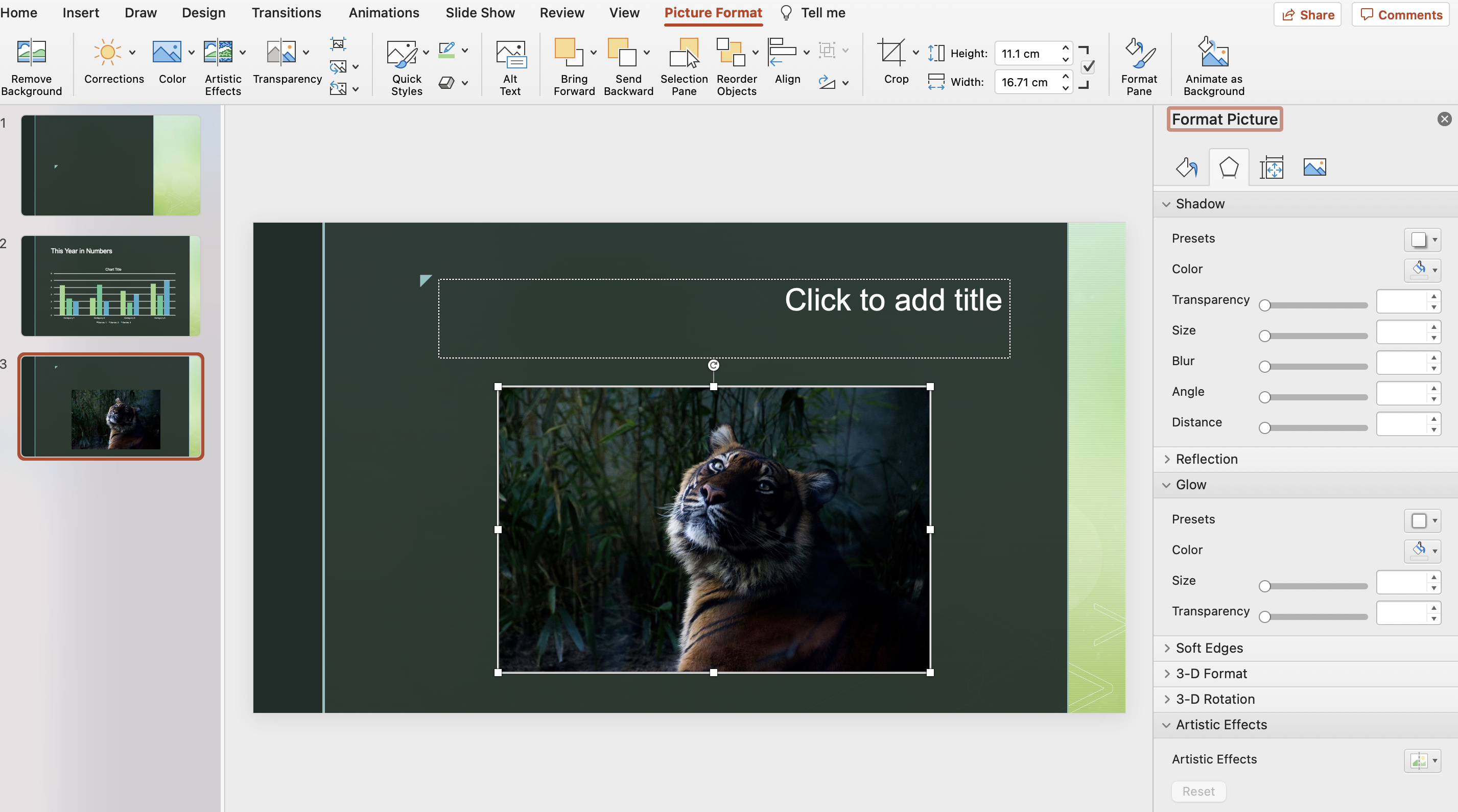 PowerPoint vs Venngage PowerPoint Photo Editing