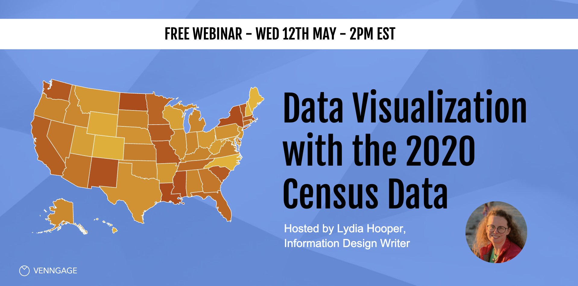 Data Visualization with the 2020 Census Data Webinar Venngage
