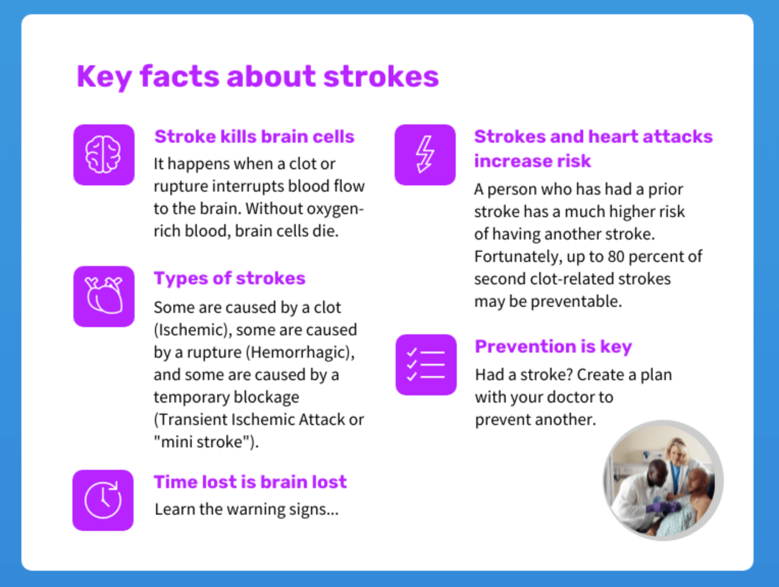 stroke patient education