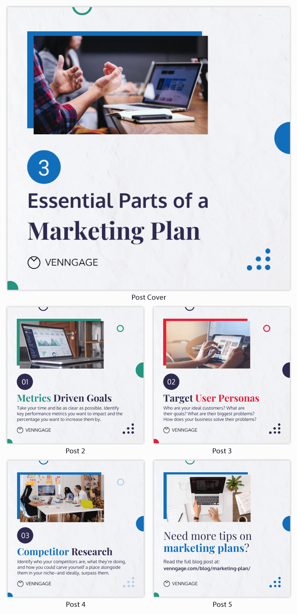 Strategy Infographic Muted Marketing Plan Instagram Carousel Post
