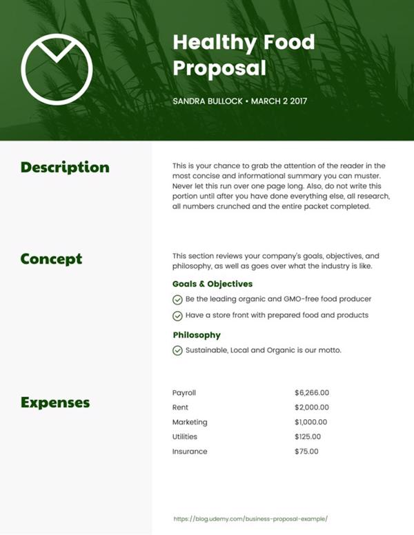 How To Write A Business Proposal Examples Templates Venngage