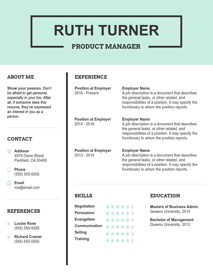 Best Resume Fonts
