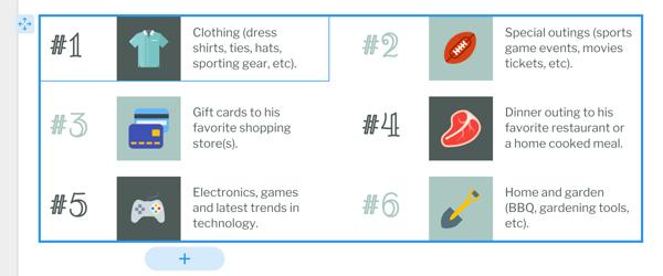 Move smart list infographic