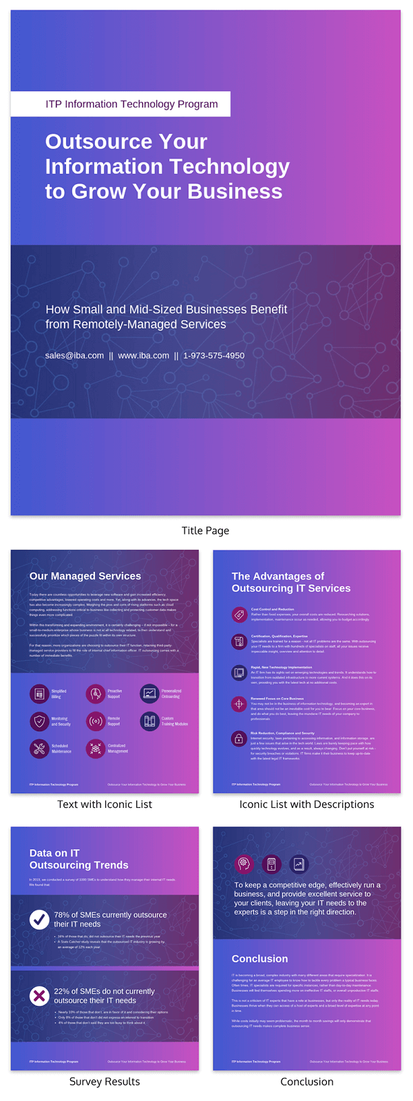 Vibrant Information Technology White Paper Template
