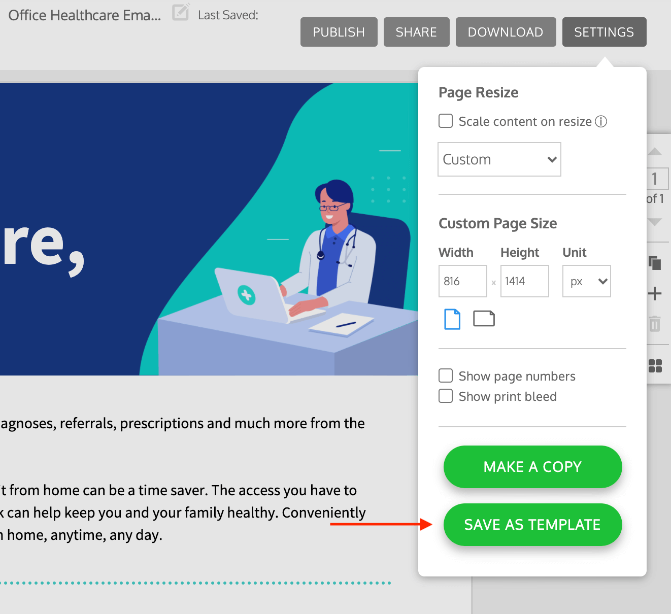Welcome Email Design
