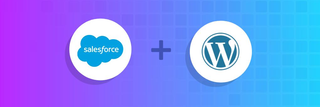 saleforce wordpress integration